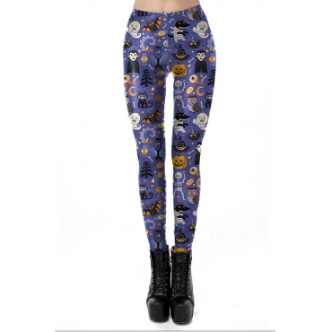 Lovely All Saints  Day Printed Purple Pants