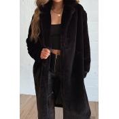 Lovely Trendy Winter Black Coat
