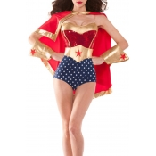 Lovely Cosplay Wonder Woman One-piece Romper(With