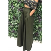 Lovely Work Loose Army Green Pants