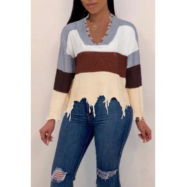 Lovely Trendy Asymmetrical Grey Sweaters