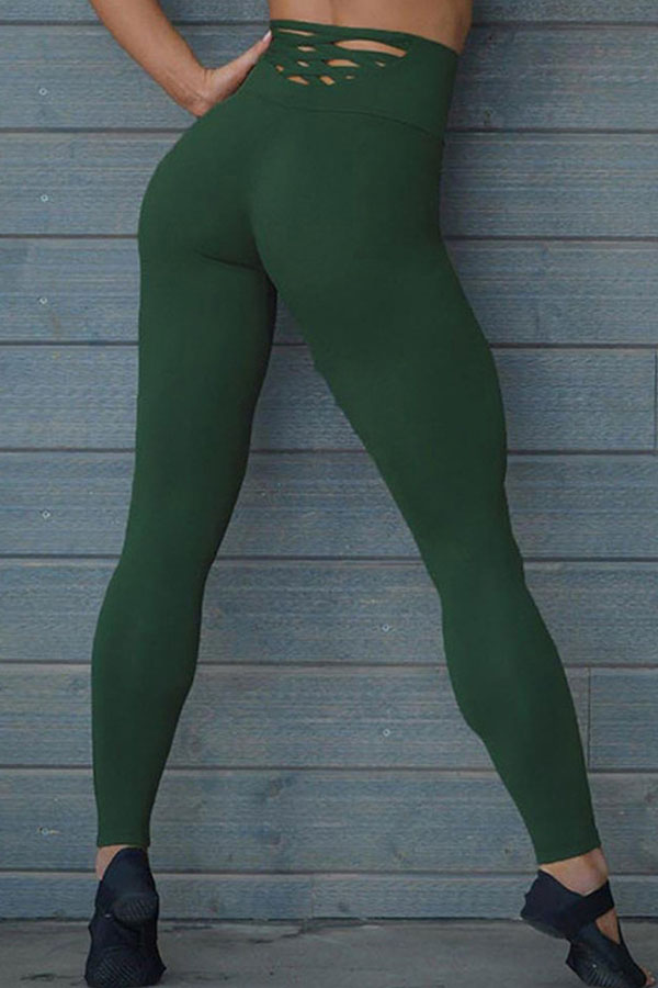 Lovely Sportswear Skinny Green Leggings