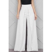 Lovely Casual Loose White Pants