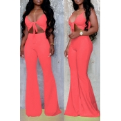 Lovely Sexy Hollow-out Croci One-piece Jumpsuit