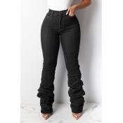 Lovely Leisure Heap Black Jeans