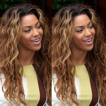 Lovely Retro Curly Synthetic Brown Wigs