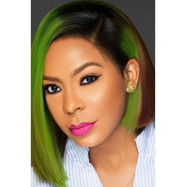 Lovely Chic Bobo Green Wigs