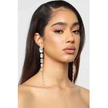 Lovely Trendy White Alloy Earring