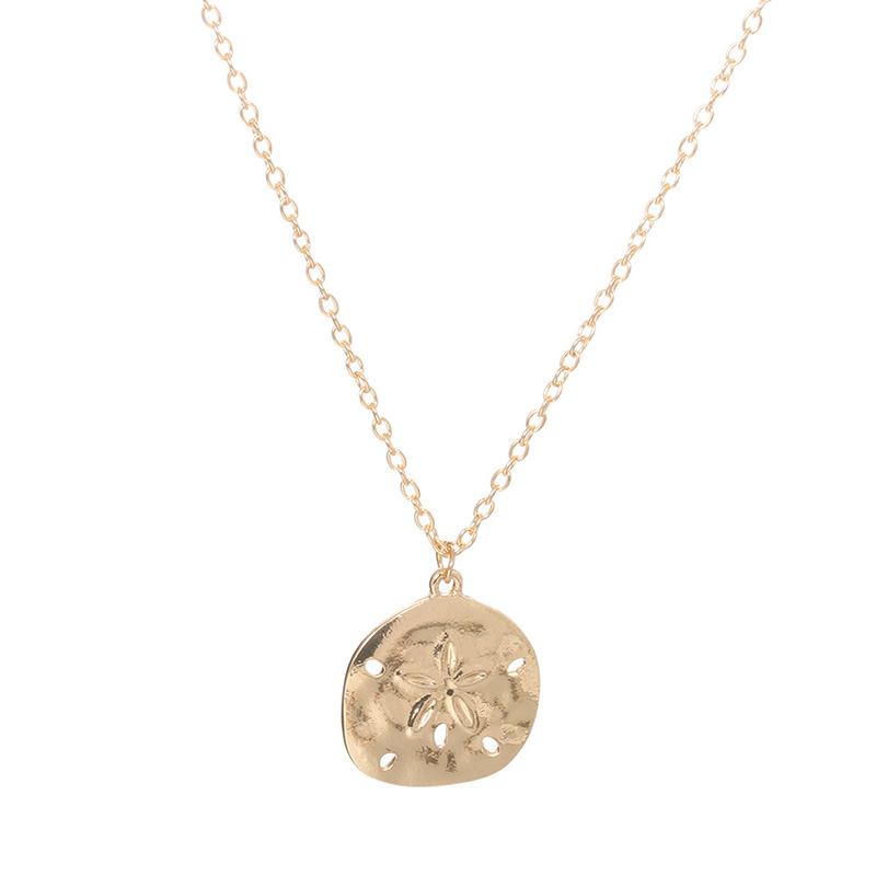 Lovely Chic Alloy Gold Necklace
