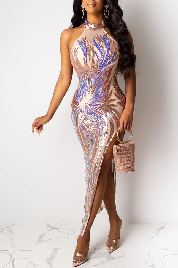 Lovely Party Dew Shoulder Apricot Ankle Length Prom Dress