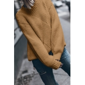 Lovely Basic Khaki Sweater