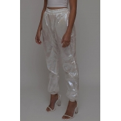 Lovely Leisure Loose White Pants