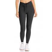 Lovely Sportswear Skinny Black Leggings