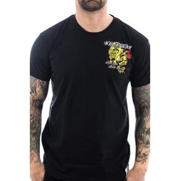 Lovely Street Printed Black T-shirt