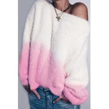 Lovely Leisure Loose Pink Sweater