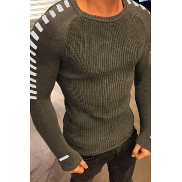 Lovely Casual Basic Army Green Sweater