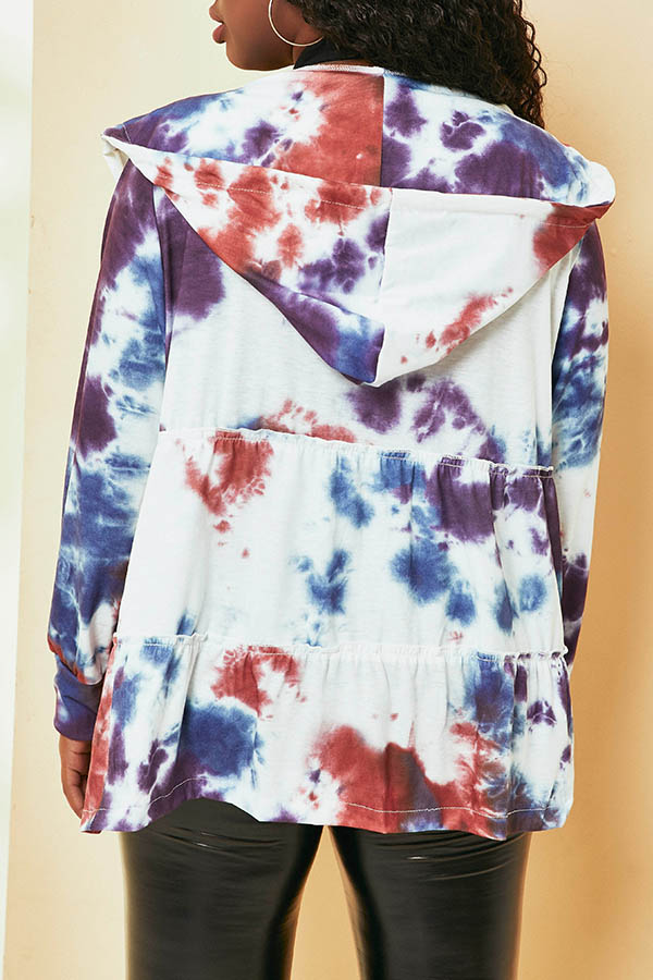 Lovely Trendy Printed Multicolor Coat