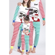 Lovely Family Striped Printed Multicolor Mother Tw