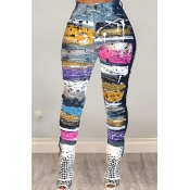 Lovely Trendy Printed Multicolor Pants