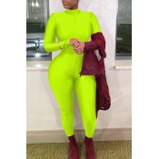 Lovely Trendy Skinny Green One-piece Jumpsuit