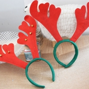 Lovely Christmas Day Christmas Deer Red Hairpin