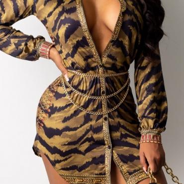 Lovely Trendy Gold Body Chain