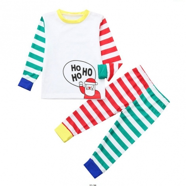 Lovely Family Striped Multicolor Baby One-piece Jumpsuit