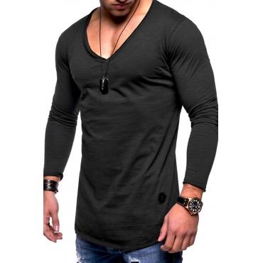 Lovely Casual V Neck Skinny T-shirt