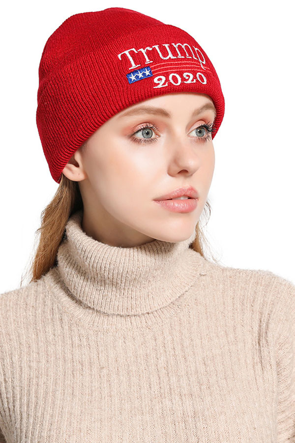 Lovely Casual Letter Wine Red Hat