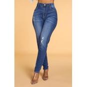 Lovely Leisure Skinny Dark Blue Jeans
