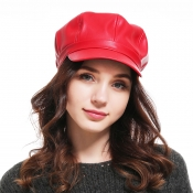 Lovely Casual Red Hat