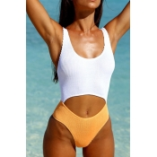 Lovely Patchwork Croci One-piece Swimwear