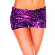 Lovely Sexy Print Purple Panties