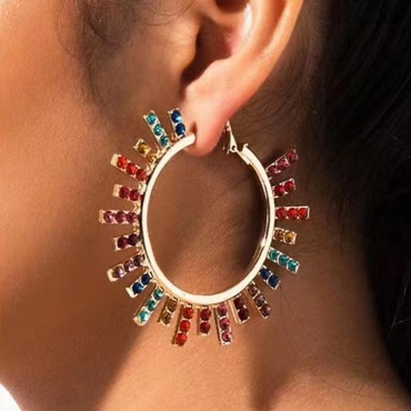 Lovely Casual Multicolor Earring