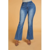 Lovely Chic Make Old Blue Jeans