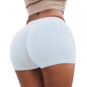 Lovely Sexy Basic White Panties