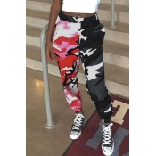 Lovely Casual Camouflage Print Pants