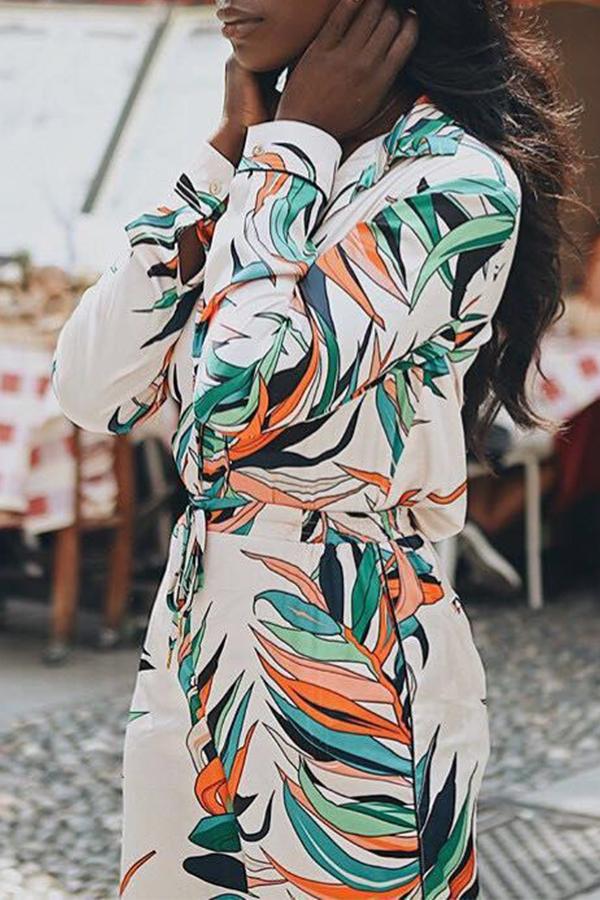 Lovely Stylish Deep V Neck Multicolor One-piece Jumpsuit