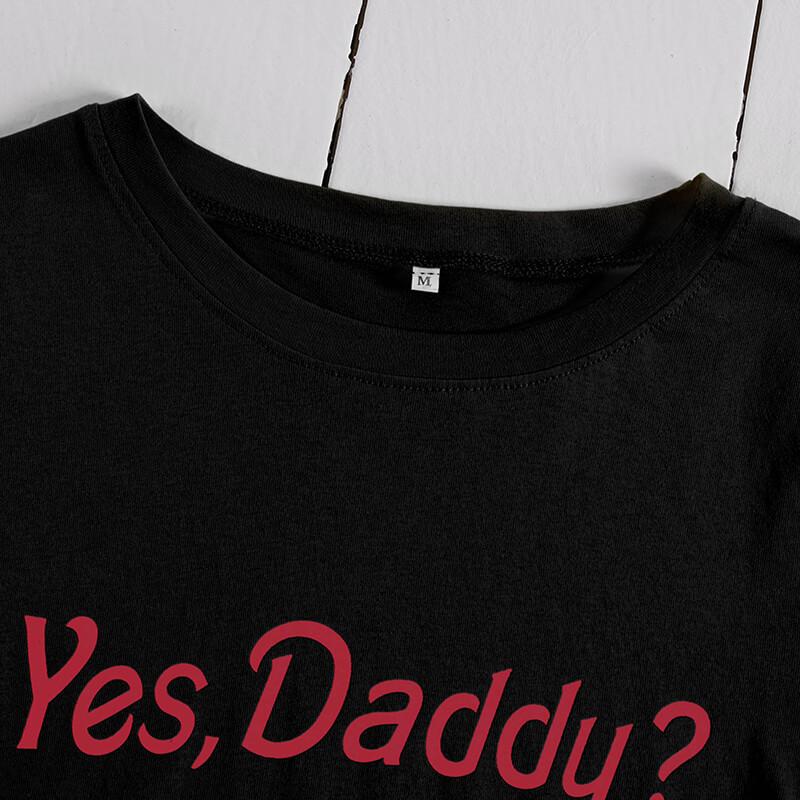 Lovely Casual Letter Print Black T-shirt