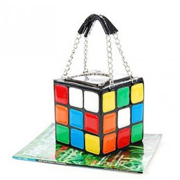 Lovely Stylish Patchwork Multicolor Crossbody Bag