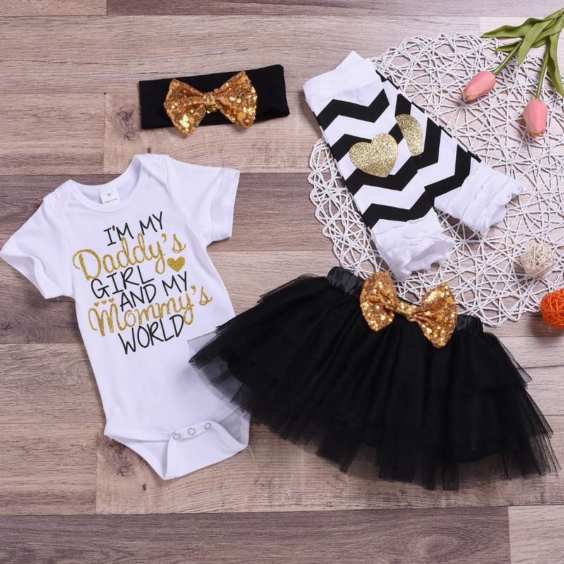 Lovely Casual Letter Print Black Girl Two-piece Skirt Set