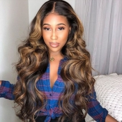 Lovely Chic Curly Brown Wigs