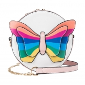 Lovely Sweet Bow-Tie Pink Crossbody Bag