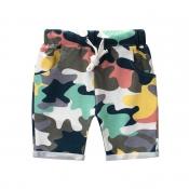 Lovely Trendy Camo Print Boy Shorts