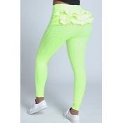 Lovely Sportswear Skinny Green Leggings