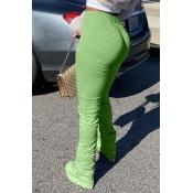 Lovely Stylish Basic Skinny Green Pants