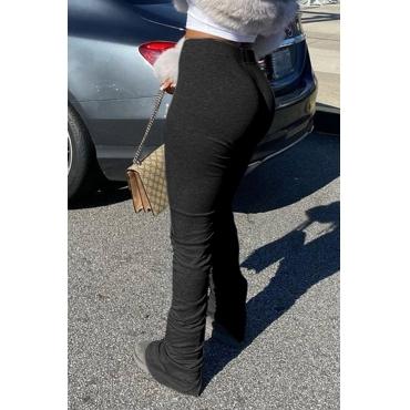Lovely Stylish Basic Skinny Black Pants