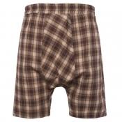 Lovely Stylish Grid Coffee Shorts