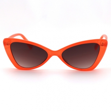 lovely Trendy Cat s Eye Frame Design JacinthSunglasses
