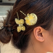 lovely Stylish Butterfly Gold Hairpin